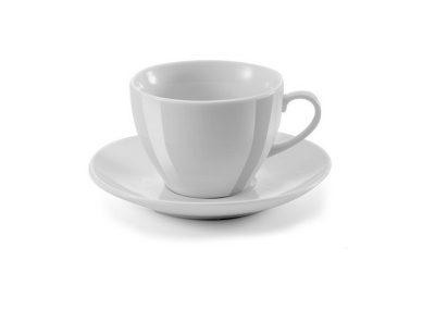 230 ml keramikinis puodelis su lėkštute