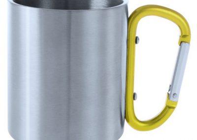 Metaliniai puodeliai, 200 ml