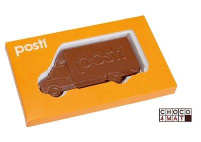 189 šokoladinis mikro autobusiukas