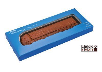 190 šokoladinis vilkikas