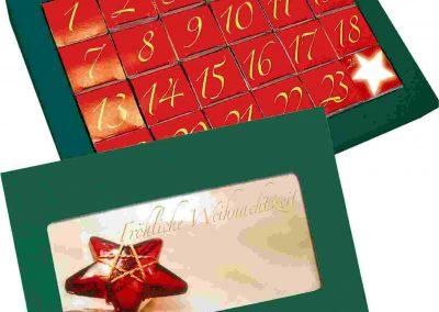 Advento kalendorius (valgomas)