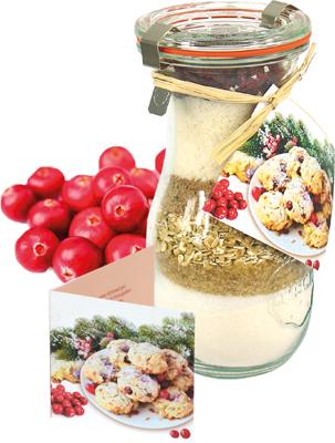 Kalėdiniai kepinų ingredinentai su spanguolėmis, 200g