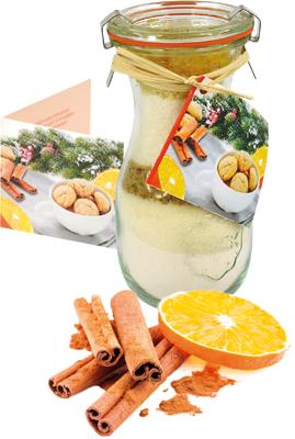 Kalėdiniai kepinų ingredinentai su cinamonu ir apelsinu, 200g