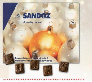 Asmeninis Advento kalendorius. Popierinėje pakuotėje arba metalinėje dėžutėje