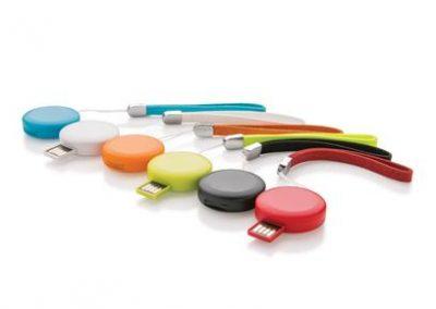 Round USB. 8 GB.