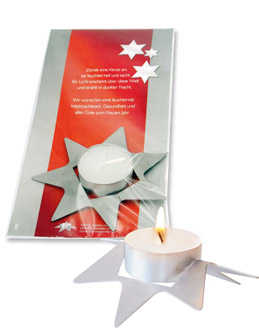 """Kalėdinis atvirukas """"STAR"""""""
